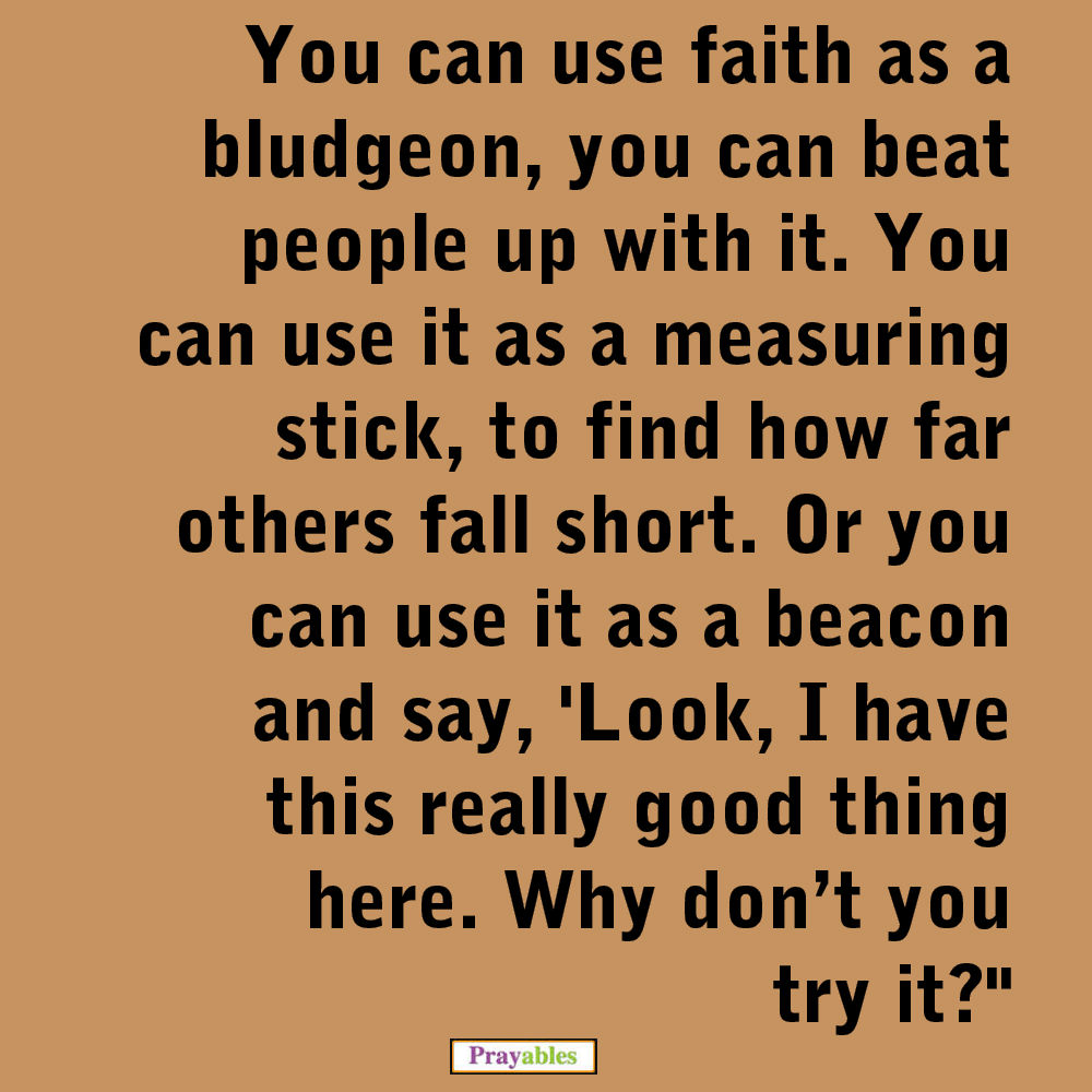 quote about faith