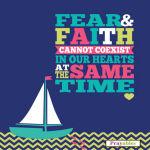fear & faith quote