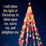 Affirmation: Light of Christmas