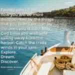 Blessing: Sail Away