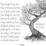 Bible: Habakkuk 3:17-18