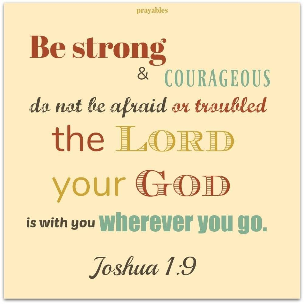 bible joshua 1 9 prayables