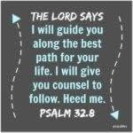 Bible: Psalm 32:8