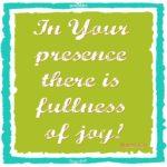 Psalms: 16:11