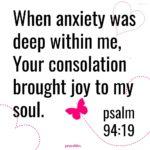 Bible: Psalm 94:19