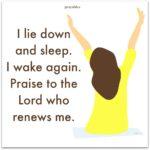 Bible: Psalm 3:5