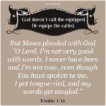 Bible: Exodus 4:10