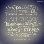 Bible: Isaiah 41:10