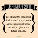 Bible: Jeremiah 29:11