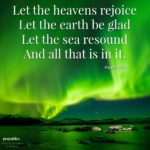 Bible: Psalm 96:11