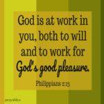 Bible: Philippians 2:13