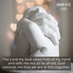 Bible Affirmation: Isaiah 41:13