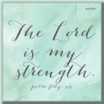 Bible Affirmation: Psalm 46