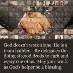 Blessing: God's Helper