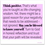 Blessing: Know Yourself