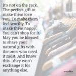 Blessing: Natural Gifts
