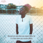 Blessing: Expectations