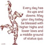 Blessing: Ups and Downs