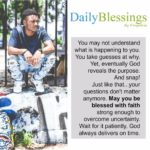 Blessing: Overcome Uncertainty