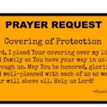 Prayables Prayer Request: Covering of Protection