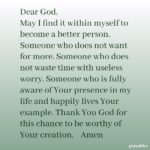 Prayer: Worthy