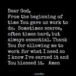 Prayer: Earned It