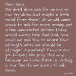 Prayer: Dare Ask