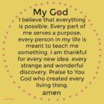Prayer: Everything