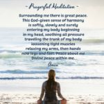 Prayer: Prayerful Meditation