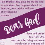Prayer: My Life