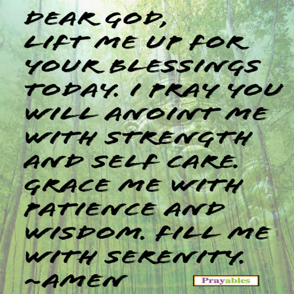 daily prayer