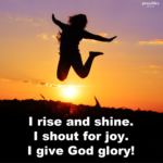 Prayer: Give God Glory