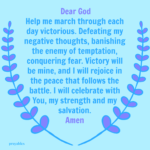 Prayer: Strength Victorious