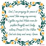Prayer: Peace of Mind