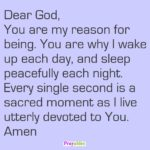 Prayer: Reason for Being