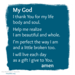 Prayer: Thank You for My Life