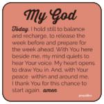 Prayer: Start Again