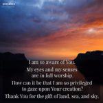 Prayer: Gift of Land, Sea and Sky