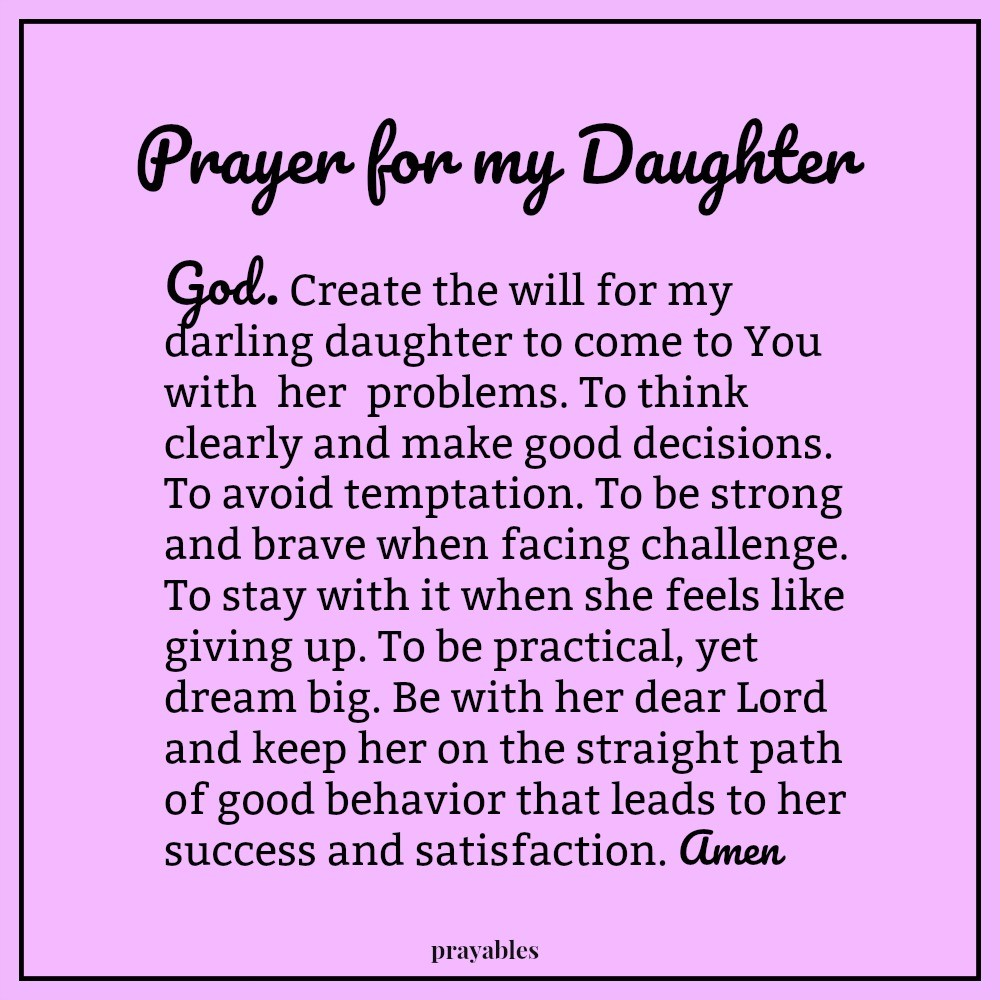 a prayer for my daughter the poem A mother's prayer for her daughter, by tina fey i know i'm behind on the times with this but i still haven't read 'bossypants' by, tina fey it's officially #3 on my to-read list over at goodreads.