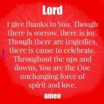 Prayer: Spirit & Love