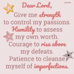 Prayer: Cleanse Me of Imperfections