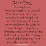 Daily Prayer. Because a Beautiful Life Doesn't Just Happen