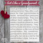 Quote: Act Like a Grandparent