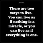 Quote: Everything is a Miracle