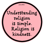 Quote: Religion is Simple