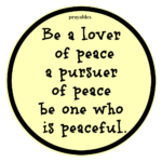 Quote: Peaceful