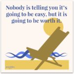 Quote: Not Easy