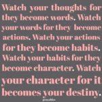 Quote: Destiny