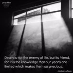 Quote: Death is Not the Enemy