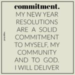 Affirmation: Commitment